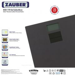 Zauber ECO-170 Sol LaderBrun