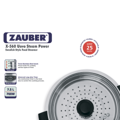 Zauber X-560 UovoSteamPower